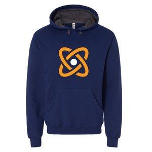 Navy Fruit of the Loom® SofSpun Hooded Pullover Sweatshirt