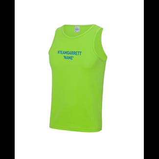 Team Garrett Mens Running Vest