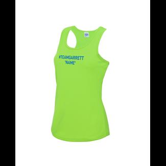 Team Garrett Ladies Running Vest
