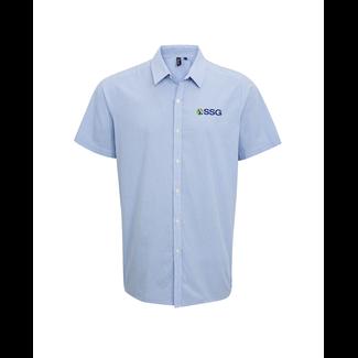 SSG Staff Mens Short Sleeve Dress Shirt