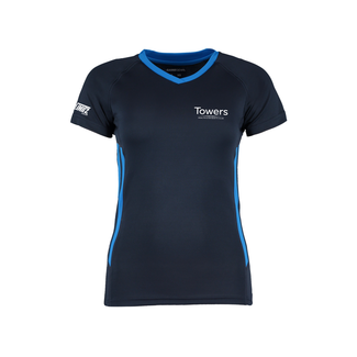 Towers Ladies Squash Shirt