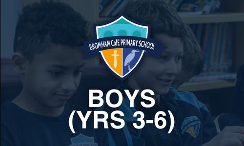 Boys (Yrs 3-6)