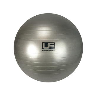 Urban Fitness 500kg Burst Resistance Swiss Gym Ball - 75cm Silver