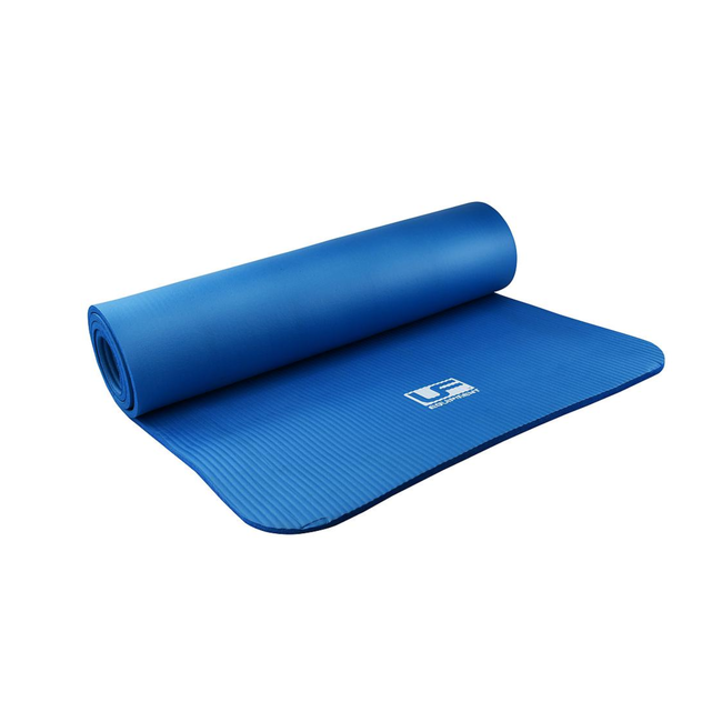 Urban Fitness NBR Fitness Mat 183 x 61cm x 10mm Blue