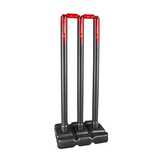 Gray-Nicolls PowerPlay Plastic Red/Black Stumps