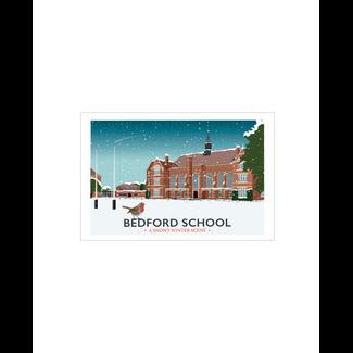 Bedford School Winter Landscape