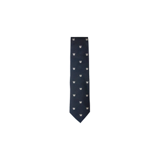 BS OB Crested Silk Tie