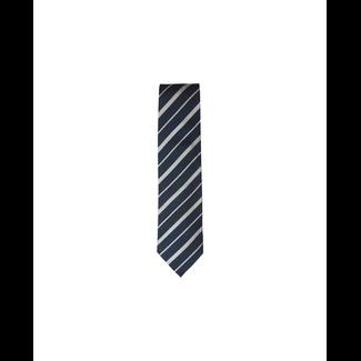 BS OB Striped Silk Tie