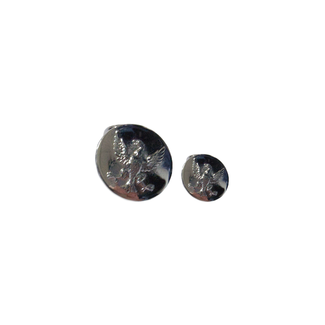 BS Silver Major Sports Buttons