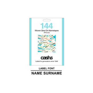 Sew In Labels - 144 Pack