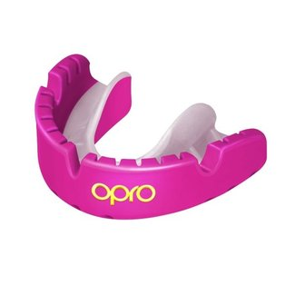Opro Gold Braces Mouthguard - Adult (11+)