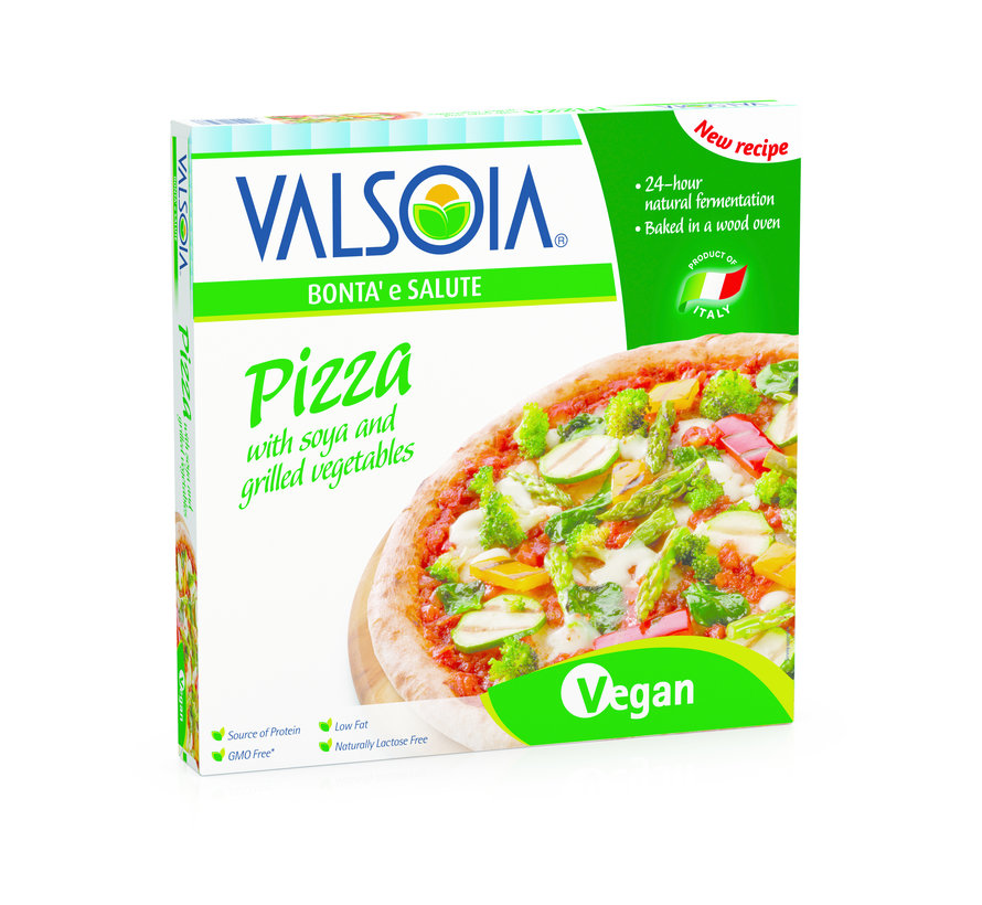 Grilled Vegetables Pizza - Valsoia - 10 x 330g