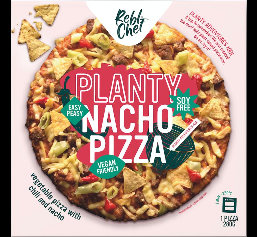 Planty Nacho Pizza - Rebl Chef - 10 x 280g