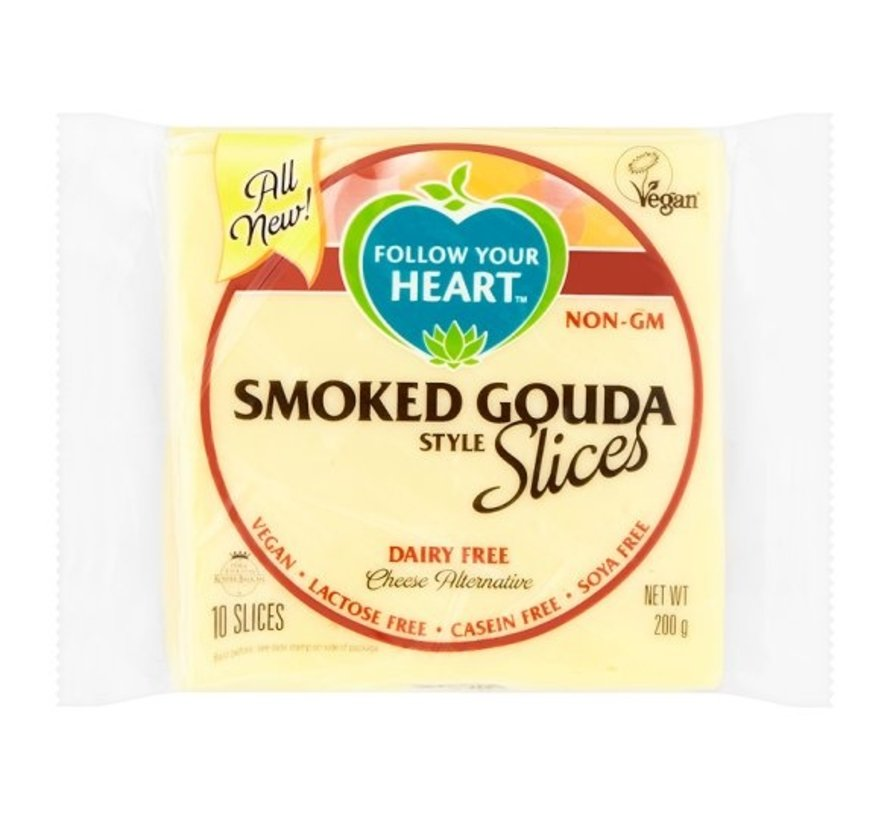 Smoked Gouda Style Slices - FYH -  12 x 200g