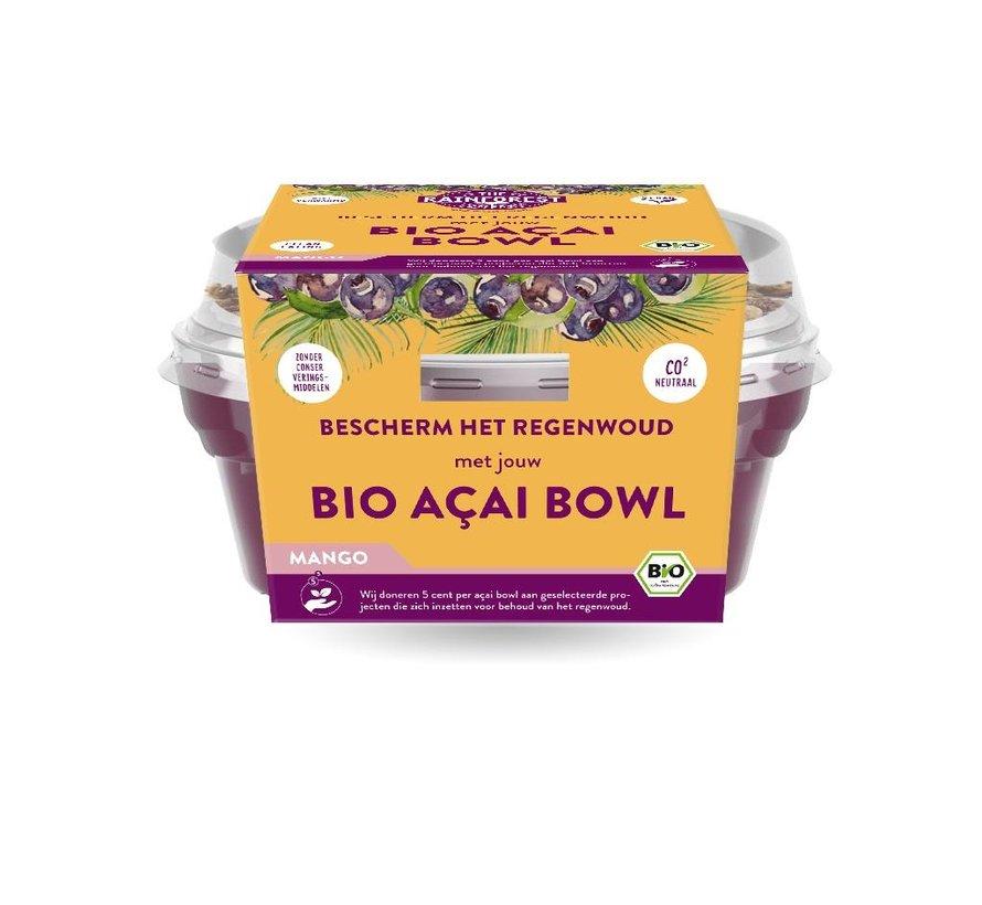 Açai Bowl Mango - The Rainforest Company - 6 x 190g