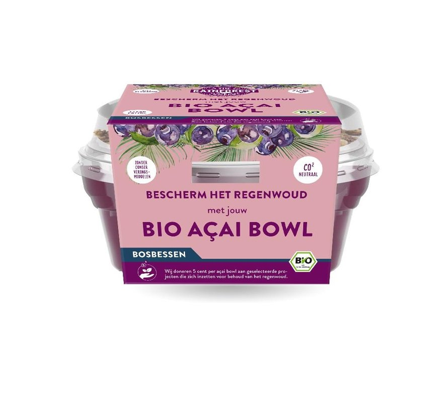 Açai Bowl Blueberry - The Rainforest Company - 6 x 190g