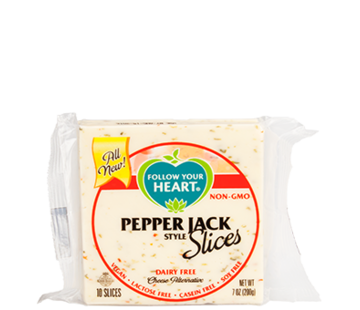 Follow Your Heart (FYH) Pepper Jack Style Slices - FYH - 12 x 200g