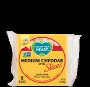 Follow Your Heart (FYH) Medium Cheddar Style Slices - FYH - 12 x 200g