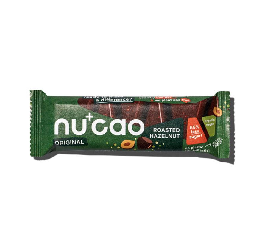 Nu+cao Roasted Hazelnut - the nu company - 12 x 40g