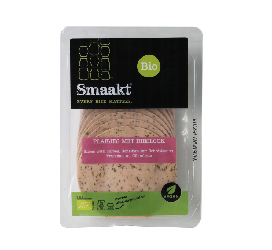 Bread topping Chives flavor - Smaakt - 4 x 100g