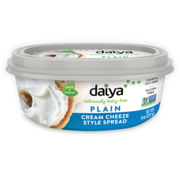 Daiya Plain Cream Cheeze Style Spread - Daiya -  6 x 227g (NL back-label)