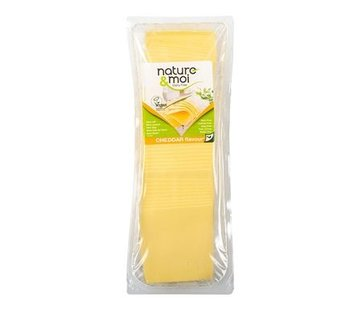 Nature&Moi Slices cheddar - Nature&Moi - 6 x 1 kg