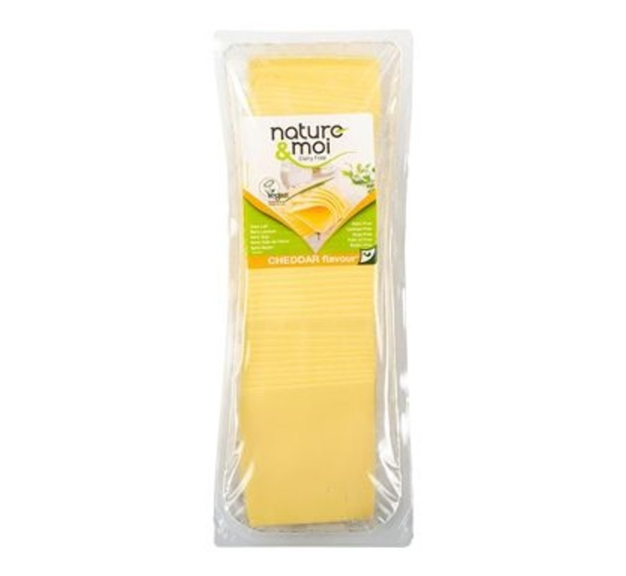 Slices cheddar - Nature&Moi - 6 x 1 kg