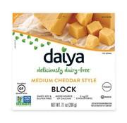 Daiya Medium Cheddar Style Block - Daiya - 8 x 200g (ENG back-label)