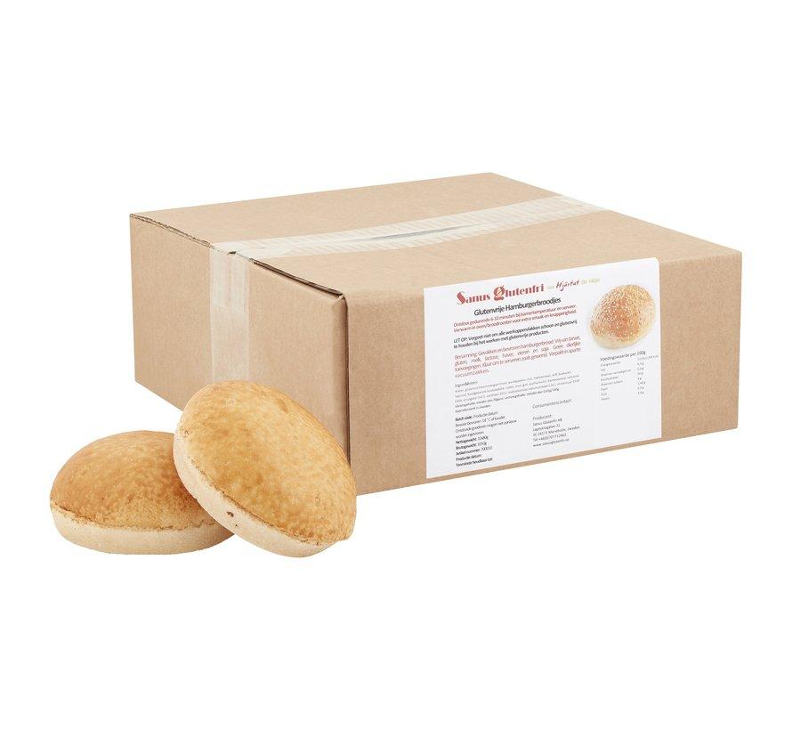 Hamburger Bread - Sanus - 10 x 80g