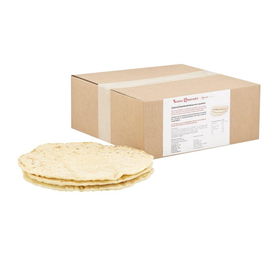 Naan Bread - Sanus - 4 x (3 x 130g)