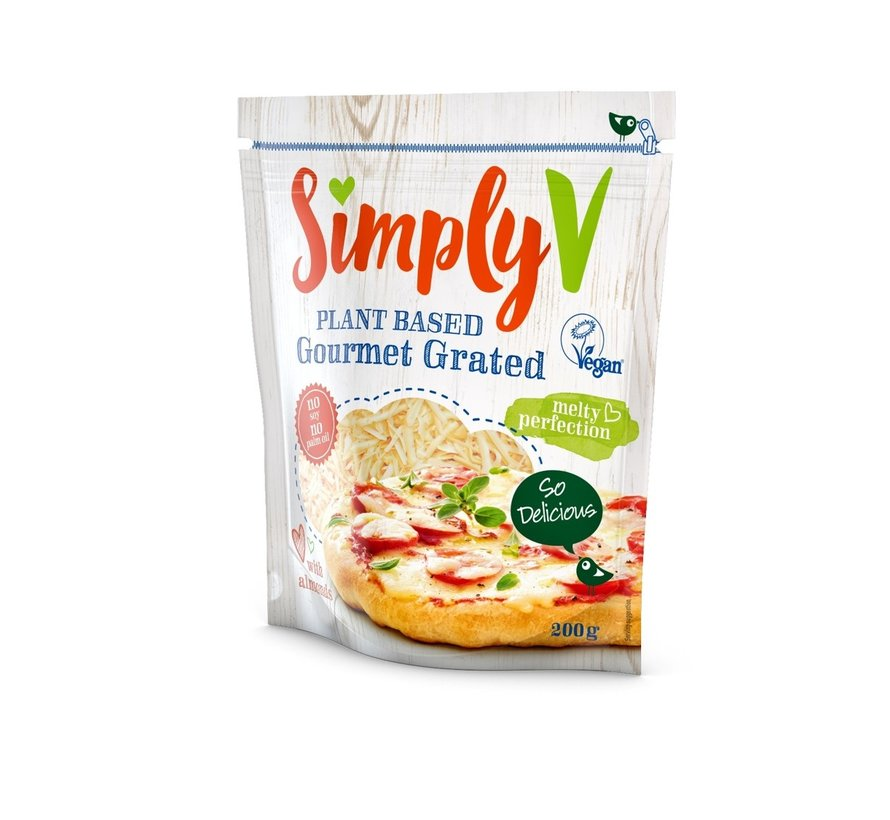Grated - Simply-V - 6 x 200g