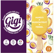 Gigi Multipack Mango, Passion fruit & Fennel- Gigi - 8 x (3 x 70g)