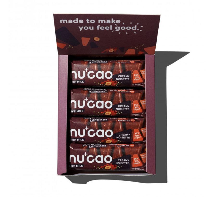 Nu+cao M!lk Creamy Noisette - the nu company - 12 x 40g