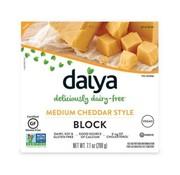 Daiya Medium Cheddar Style Block - Daiya -  8 x 200g (NL back-label)