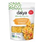 Daiya Cheddar Style Cutting Board Shreds  - Daiya - 12 x 200g  (ENG back-label)