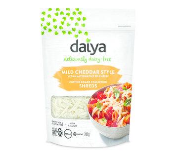 Daiya Mild Cheddar Cutting Board Shreds  - Daiya - 12 x 200g (ENG back-label)