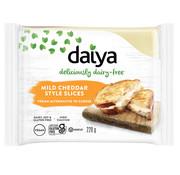 Daiya Mild Cheddar Style Slices - Daiya - 8 x 220g  (ENG back-label)