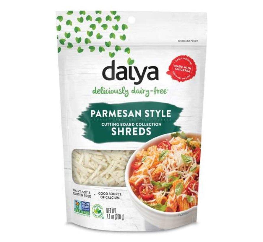 Daiya - Cutting Board Parmesan Shreds - 12 x 200g