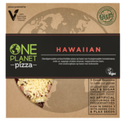 One Planet Pizza One Planet Pizza - Hawaiian Frozen Pizza - 10 x 350g