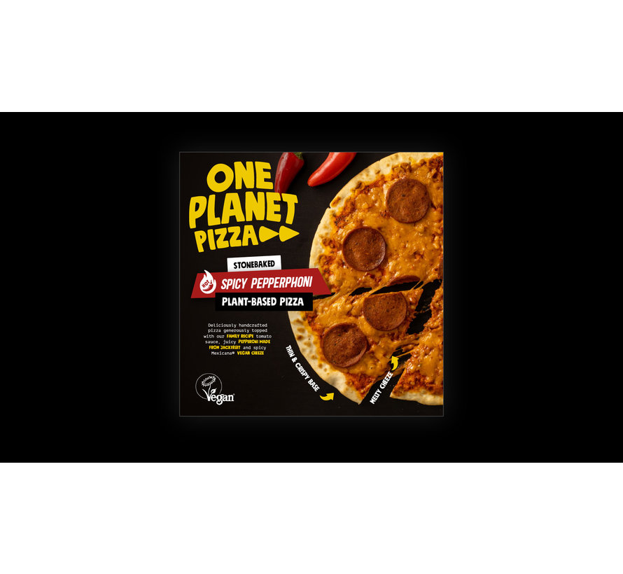 One Planet Pizza - Spicy Peppernoni - 10 x 350g