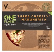 One Planet Pizza One Planet Pizza - Three Cheeze Margherita - 10 x 350g