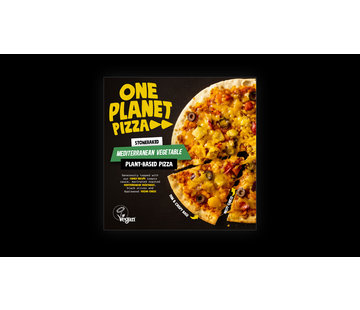 One Planet Pizza One Planet Pizza - Mediterranean Roasted Veg. Pizza - 10 x 350g