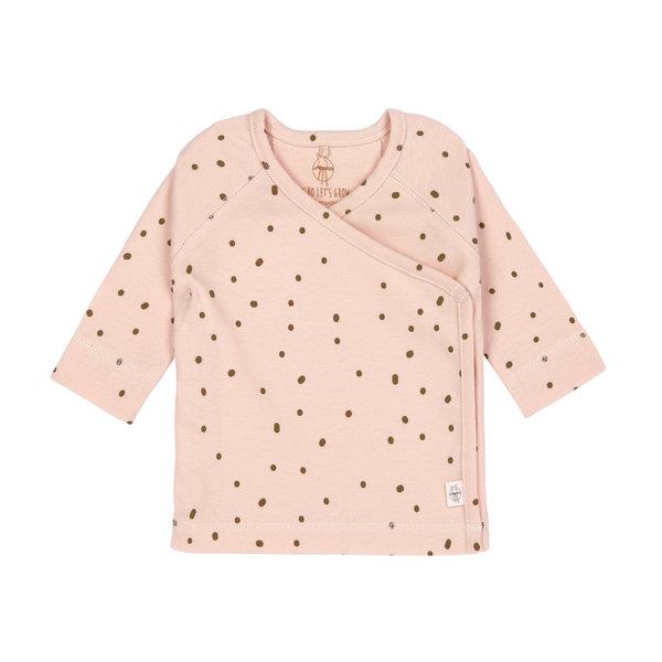 Lässig Kimono shirt dots powder pink
