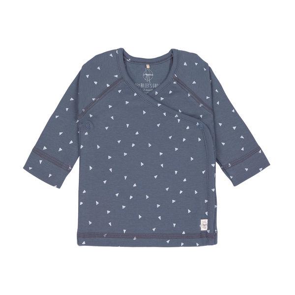 Lässig Kimono shirt triangle blue