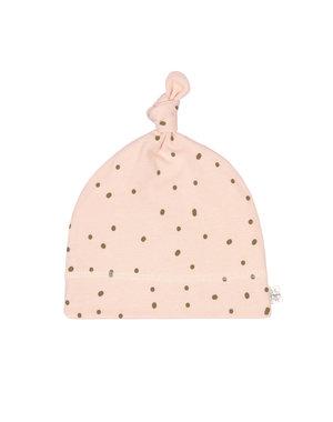 Lässig Interlock beanie dots powder pink