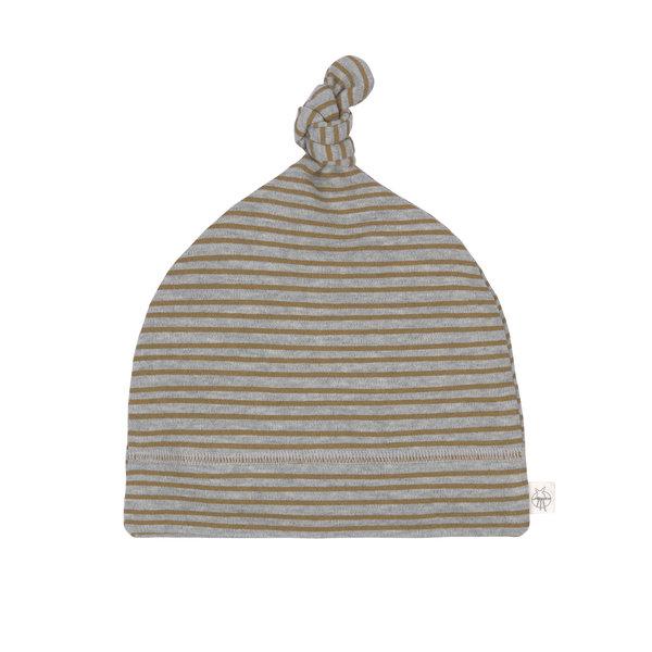Lässig Interlock beanie striped grey mélange