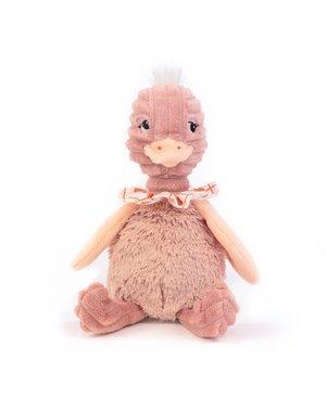 Les Déglingos Kleine pomelo's de struisvogel
