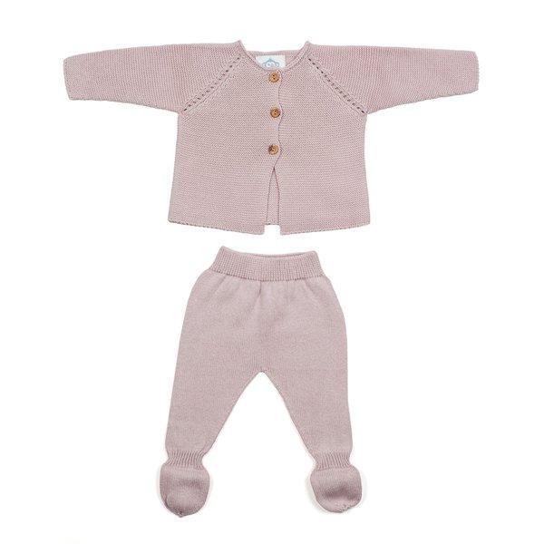 Micu Micu Newborn set pink
