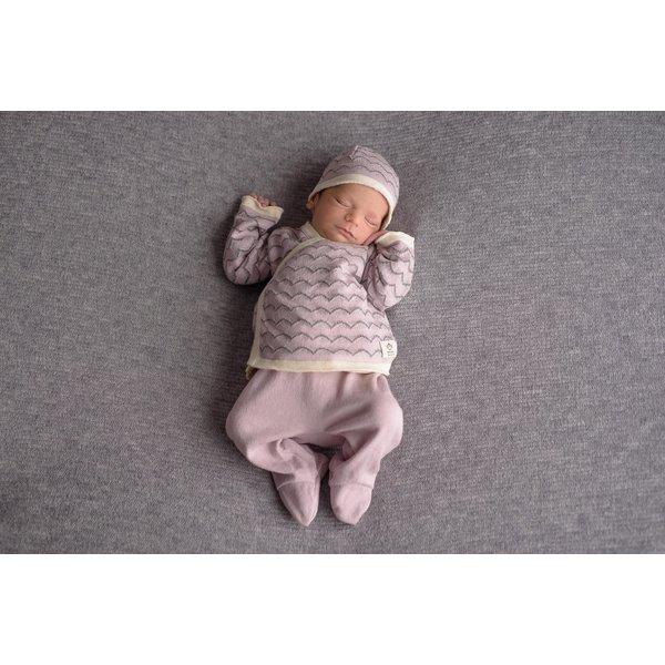Micu Micu Newborn set waves pink