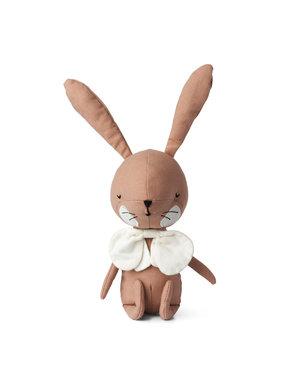 Picca Loulou Roze konijn knuffeldier in geschenkdoos